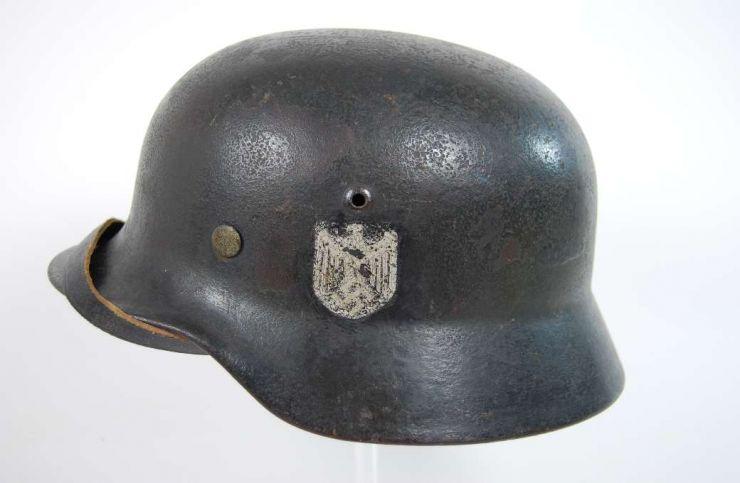 Wehrmacht, Casco M35 de Combate
